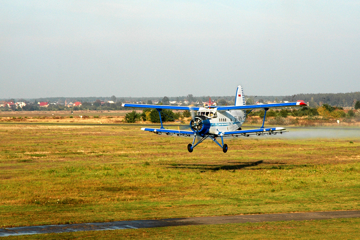 Agro aviation training aircraft - AN-2